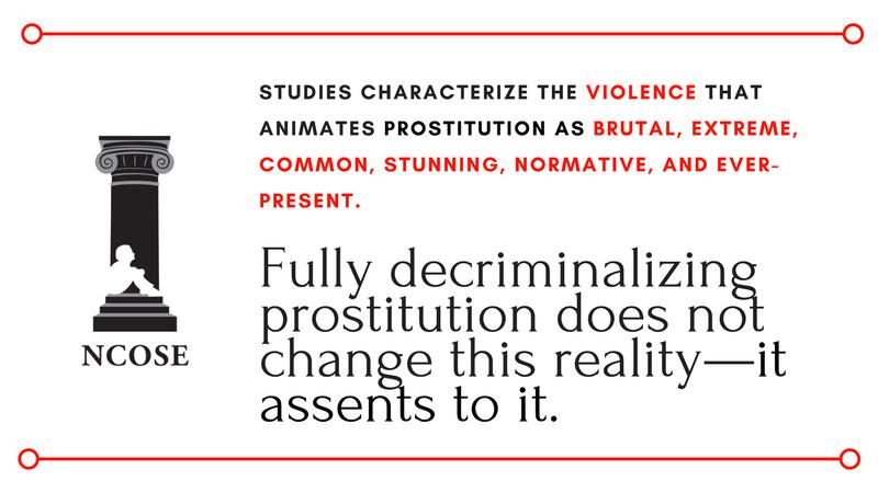 Full Decriminalization of Prostitution