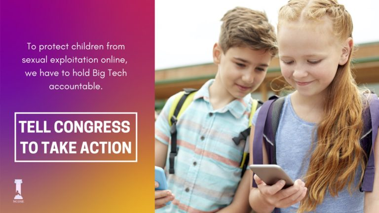 Protect Children by Taking Action to Support the EARN IT Act
