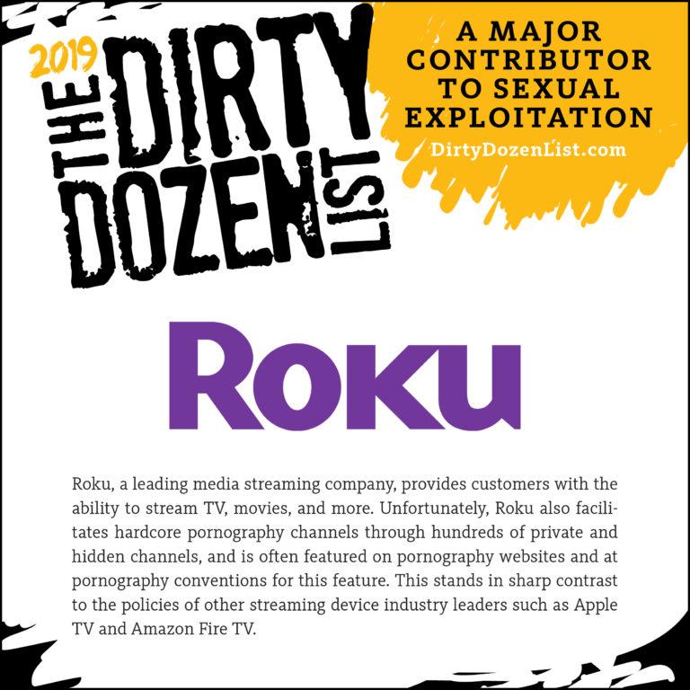 Dirty Dozen List 2019 - Roku